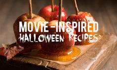 Halloween Recipes Inspired by Scary Movies