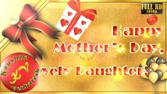 Happy Mother's Day 2019,Wishes,Whatsapp Video,Greetings,Animation,Messag... Mothers Day Gif, Mothers Day Decor, Youtube Video Player, Holiday Ecards, E Greetings, Mother's Day Cookies, Whatsapp Videos, Diy Gifts, Wish