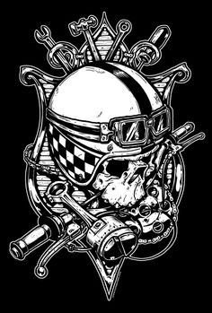 1000 images about motorcycle tattoo on pinterest isle of man skulls and motorcycles. Black Bedroom Furniture Sets. Home Design Ideas