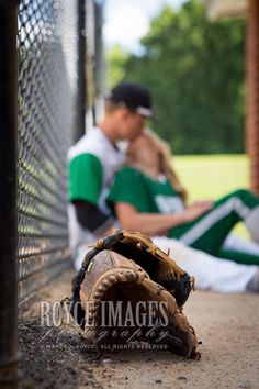 Senior Baseball/Softball Couple Photography