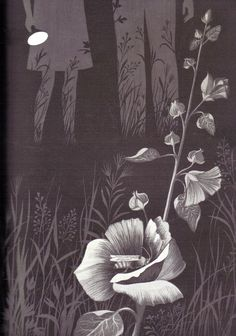 """In the Middle of the Night"" by Aileen Fisher, illustrated by Adrienne Adams, 1965"