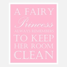 Princess Clean Ha!
