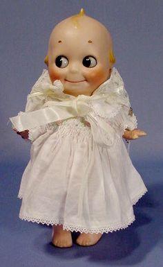 Kestner Kewpie Doll with Bisque Head NR