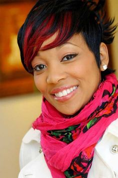 Black Women Hairstyles: Black Women Hairstyles With Color ~ wowhairstyle.com