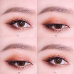 korean makeup looks Korean Beauty Tips, Korean Makeup Tips, Asian Eye Makeup, Eyeliner, Eyeshadow, Asian Eyes, Maybelline, Makeup For Beginners, Eye Make Up