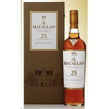 Macallan Sherry Oak Scotch Single Malt 25 years Old