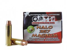 Ammunition - OATH .357 Mag Halo Ammunition. clarkarmory.com