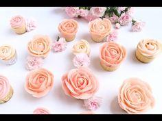 Peony Buttercream Flower Wreath Cake Decorating - CAKE STYLE - YouTube