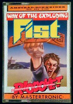 Juego Amstrad CPC Cinta - Way of The Exploding Fist (1988)