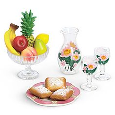 THE DETAIL IS AWESOME! American Girl® Accessories: Glassware & Treats