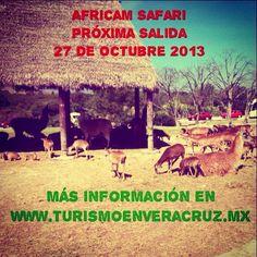 Recuerda que la próxima salida a #africamsafari es el 27 de #octubre http://www.turismoenveracruz.mx/2013/07/vamos-a-africam-safari-este-8-de-septiembre-2013-saliendo-de-veracruz-y-xalapa/ #Veracruz #Xalapa
