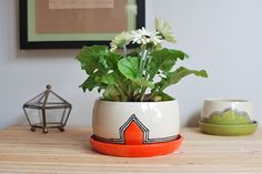 Hey, I found this really awesome Etsy listing at https://www.etsy.com/listing/186278044/medium-planter-w-drainage-holes-and-tray