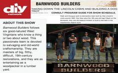 DIY Network-Barnwood Builders | Sherpa