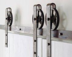 Schwere industrielle einzelne Strap Schiebetüren von TheWhiteShanty