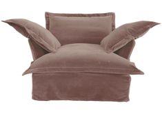 Velvet Sofa   The Most Comfortable Chair in The World - Maker & Son