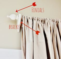 Thistlewood Farms DIY:: #Five Dollar Custom Curtain Rods! You can make them any size….any length…..any width.