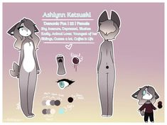I finally was able make a reference sheet for my main oc. I wasn't sure about the colors of the background but I didn't want to spend an hour trying to figure out what I should do for the background. [Please don't steal, and ask for export] Bff, Colors, Colour, Color, Paint Colors, Bestfriends, Hue