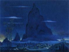 Night on Bald Mountain (Disney's Fantasia) concept art