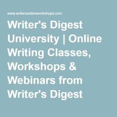 Free online creative writing classes