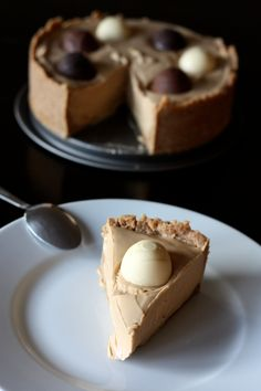 Cheesecake sans cuisson à la pâte de spéculoos, yaourt et chocolat blanc | Cuisine en Scène