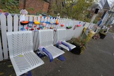 Yarn bombers strike again with woolly display celebrating Captain James Cook