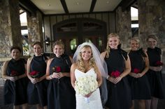 Gorgeous bride and her beautiful brides maids in front of Legacy Lodge!  https://www.facebook.com/media/set/?set=a.796725543696714.1073741831.315752888460651&type=1