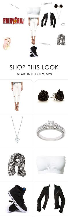"""Fairy tail natsu's twin sister"" by alex-degarde ❤ liked on Polyvore featuring Free People, Tiffany & Co., Kobelli, Banana Republic, Supra, Balenciaga, women's clothing, women, female and woman"