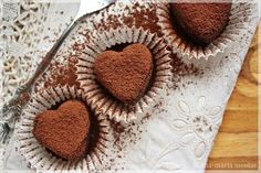 Raw Chocolate, Chocolate Truffles, Diabetic Recipes, Healthy Recipes, Healthy Food, Raw Vegan, I Foods, Sugar Free, Deserts