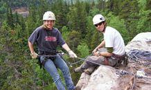 Klondike Rock Climbing and Rappelling