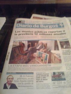 Apenas desayunado, hojeo la primera prensa. Tengo un domingo por delante . Los titulares me indican el camino