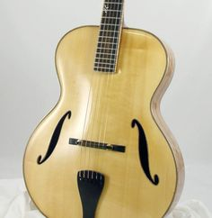A Benedetto archtop guitar, model Sinfonietta.