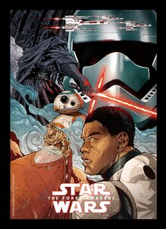 Star Wars VII - The Force Awakens Created by Manuel Morgado