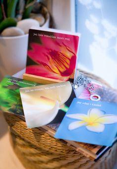 Affirmationskort/Affirmation cards. © Kreativ Insikt. Foto: Anja Callius. www.kreativinsikt.se