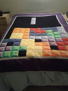 Tetris Quilt!!