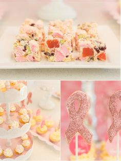 Bird's Party Blog: FREEBIES: Pink October Party Printables for Breast Cancer Awareness Month