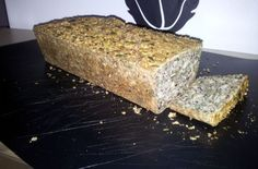 PALEO BREAD FROM DENMARK:  100 grams of almonds,   100 grams of sesame seeds,   100 grams of FLAX,   150 grams of pumpkin seeds,   75 grams sunflower seeds,   1 cup water,   1 teaspoon himalayan salt,   5 pcs eggs
