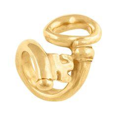 """Anillo """"Ya Ves"""" de Uno de 50 con forma de llave, colección Gold."""
