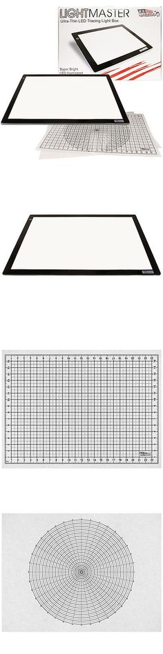 Other Drawing Supplies 11784: Lightmaster 17 X24 (A2) Light Box 12V Ultra-Thin Profile 110V Ac Power Adapter -> BUY IT NOW ONLY: $139.96 on eBay!