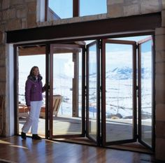 Architectural Folding, Sliding and Swing Doors cad details, specifications, and building product information for Nana Wall Systems, Inc. Accordian Door, Nana Wall, Glass Wall Systems, Screened Porch Designs, Three Season Porch, Three Season Room, Porch Addition, Pool Remodel, Home Additions