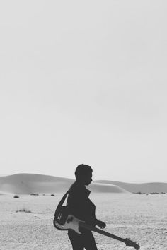 Free stock photo of black-and-white, man, person, sand