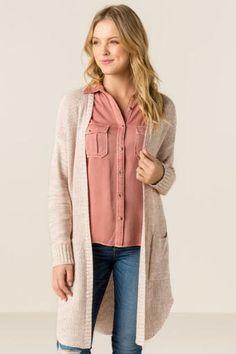 Athalia Pocket Sweater Wrap