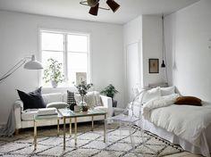 Scandinavian studio apartment | photos by Jonas Berg Follow Gravity Home: Blog - Instagram - Pinterest - Facebook - Shop