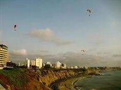 Miraflores, Peru cliff hangliding - for anyone