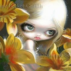 Faces of Faery #148  ©Jasmine Becket-Griffith
