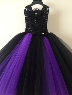 Maleficent tutu dress inspired size nb to by LittledreamsbyMayra, $25.00