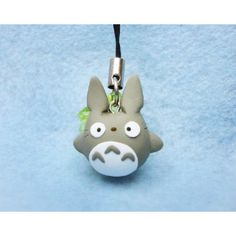Grey Totoro, Keychain,mobile accessories,llavero,colgante de movil,anime,manga,ghibli,