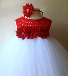Hey, I found this really awesome Etsy listing at https://www.etsy.com/listing/205195705/flower-girl-dress-christmas-tutu-dress