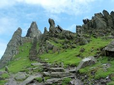 Skellig Michael in County Kerry one of the most amazing places on earth - protected by the UNESCO