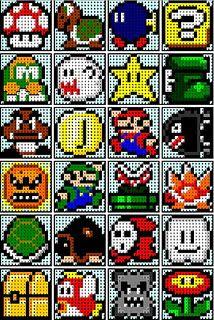 Mario templates