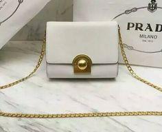 Prada Summer 2016-Prada mini saffiano leather shoulder bag white